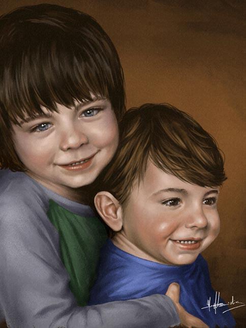 Concept Art, Digital Painting, Portrait Painting Michael Adamidis