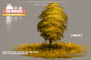 Best Photoshop Brushes for Painting oil texture Pinsel Pack