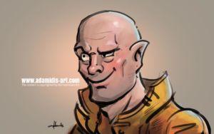 Comic Portraits by Michael Adamidis