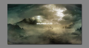 Matte Painting Dark Sea by Michael Adamidis