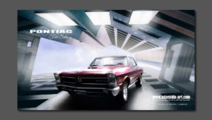 Matte Painting Pontiac for Sale by Michael Adamidis