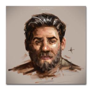 Photoshop Painting Brushes Oil texture brush pack portrait brushes acrylic Concept Art Brushes Michael Adamidis